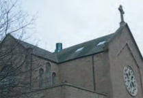 Our Lady of Victories RC Church, Dundee roof side view