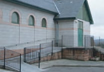 Our Lady of Victories RC Church, Dundee disabled ramp
